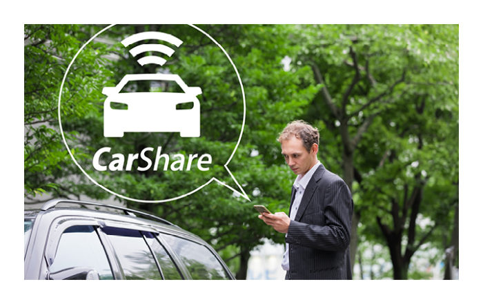 carshare speechbubble
